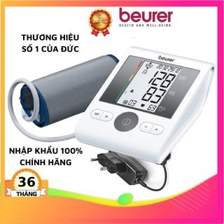 Máy đo huyết áp bắp tay tự động Beurer BM28A, máy đo huyết áp đức, hẹn giờ đo, máy đo huyết áp sạc pin,