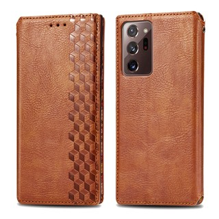 Luxury Leather Wallet Magnetic Flip case For Samsung Galaxy Note20 Note20Ultra PU Leather Card Slot Phone Case With Stand Holder
