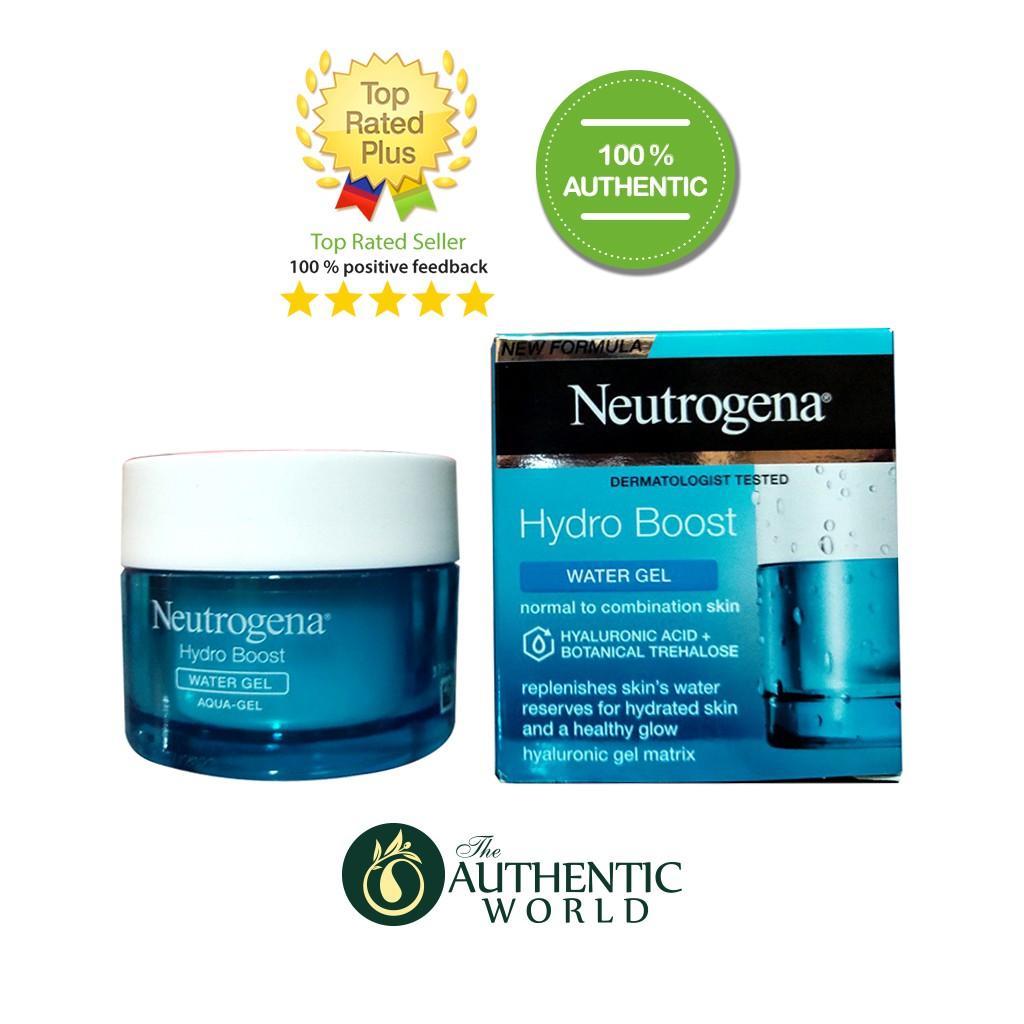 Neutrogena Water Gel - Kem dưỡng gel cho da hỗ hợp, da dầu.
