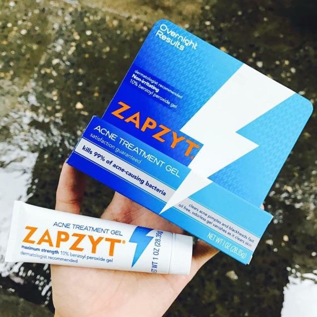 Bill Us Kem Trị Mụn Zapzyt Maximum Strength 10 Benzoyl Peroxide
