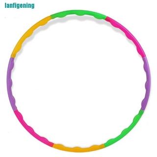 【lanfigening】Fitness Hula Hoop Massage Hoops Hula-hoop Kid Bodybuilding Hoops