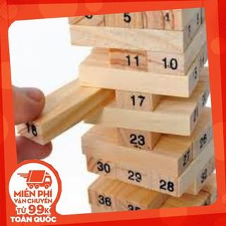 [Nhập mã TOYMAY15 giảm 15K] Đồ chơi rút gỗ thông minh (48 thanh