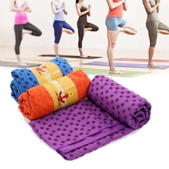 Khăn trải thảm tập yoga