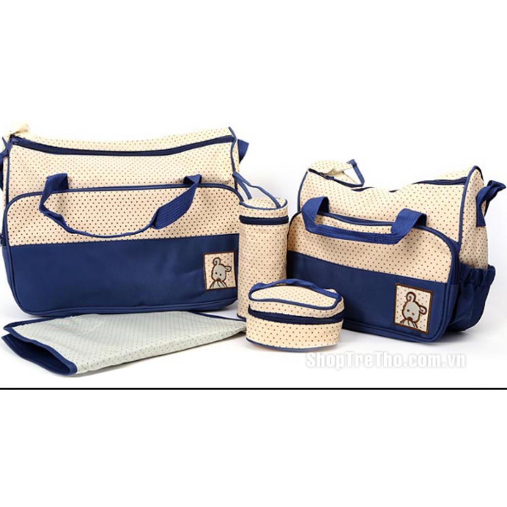 Túi đựng đồ cho mẹ và bé 5 chi tiết - 3496912 , 793787014 , 322_793787014 , 250000 , Tui-dung-do-cho-me-va-be-5-chi-tiet-322_793787014 , shopee.vn , Túi đựng đồ cho mẹ và bé 5 chi tiết