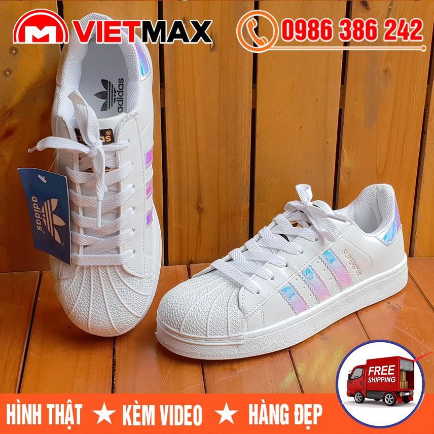 ⚡[FREE SHIP] Giày Adidas Sò Ngọc Trai Hàng Việt Nam