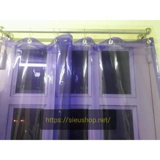 Yêu ThíchRèm Nhựa PVC Màu Trong Suốt