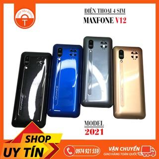 ĐIỆN THOẠI MAXFONE V12 4 SIM KIỂU DÁNG N7000 FULLBOX thumbnail