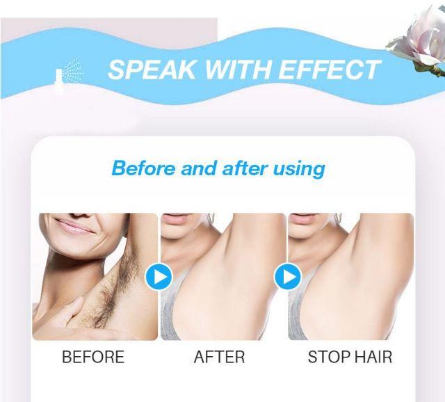 [ Triệt lông vĩnh viễn ] Combo 1 tẩy lông 1 ức chế mọc lông ( NATURAL Hair Removal & NATURAL Hair Inhibitor)