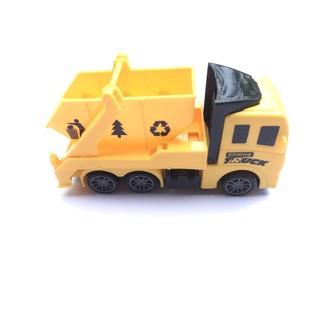 Mô hình xe tải đồ chơi dành cho bé size nhỏ có bánh đà, siêu ưu đãi 3