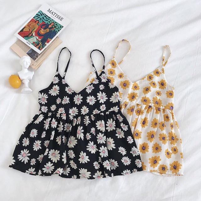Áo babydoll 2 dây - 🌼 DAISY TOP 🌼
