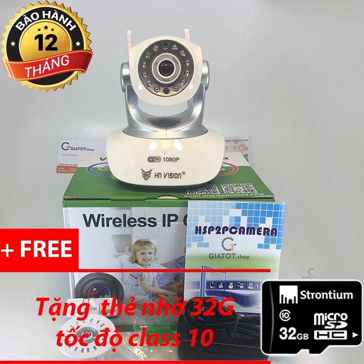 Camera wifi cao cấp HNvision fullHD 1080P 6180 tặng kèm thẻ nhớ 32G - 3080500 , 836727898 , 322_836727898 , 1099000 , Camera-wifi-cao-cap-HNvision-fullHD-1080P-6180-tang-kem-the-nho-32G-322_836727898 , shopee.vn , Camera wifi cao cấp HNvision fullHD 1080P 6180 tặng kèm thẻ nhớ 32G