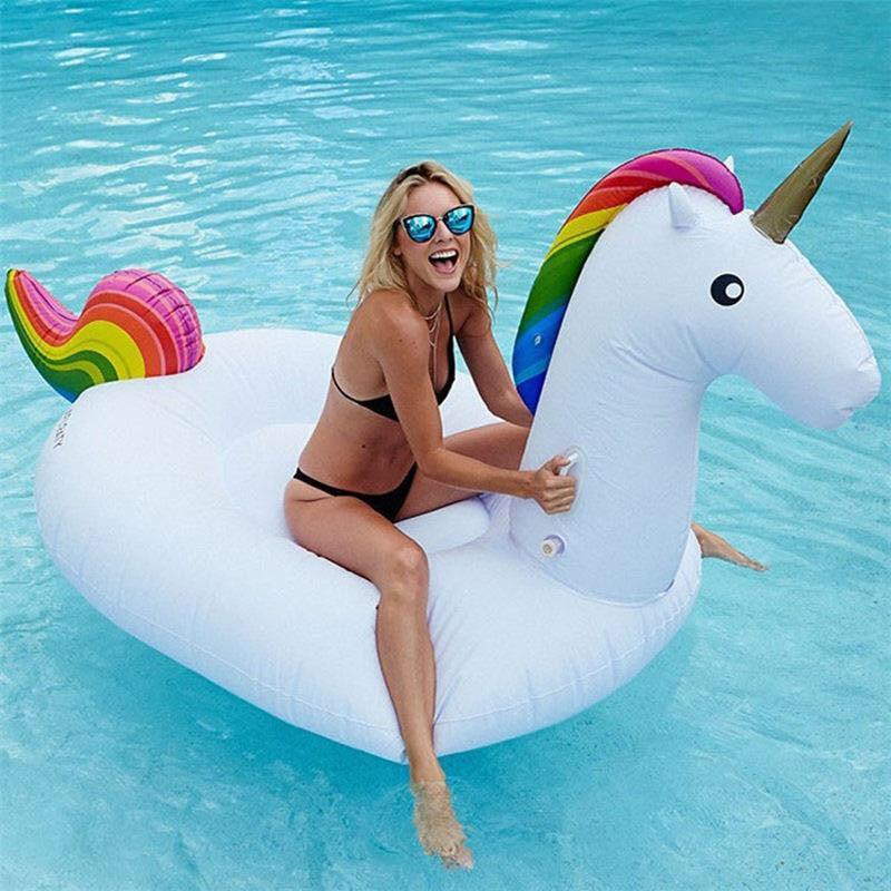 Phao bơi nằm Luxury Rainbow khổng lồ đi resort, du lịch dã ngoại( có ảnh thật)