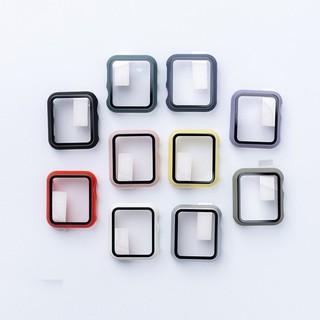 Ốp Apple Watch kèm kính cường lực cho đồng hồ thông minh Series 1,2,3,4,5,6 full size