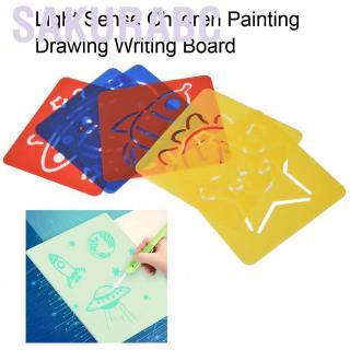 Sakurabc Light Sense Painting Writing Board Children Graffiti Drawing Educational Toy