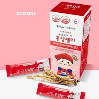 (Tách lẻ 20 gói) Thạch hồng sâm YUYU Hàn Quốc cho bé từ 8 tháng (20 gói)