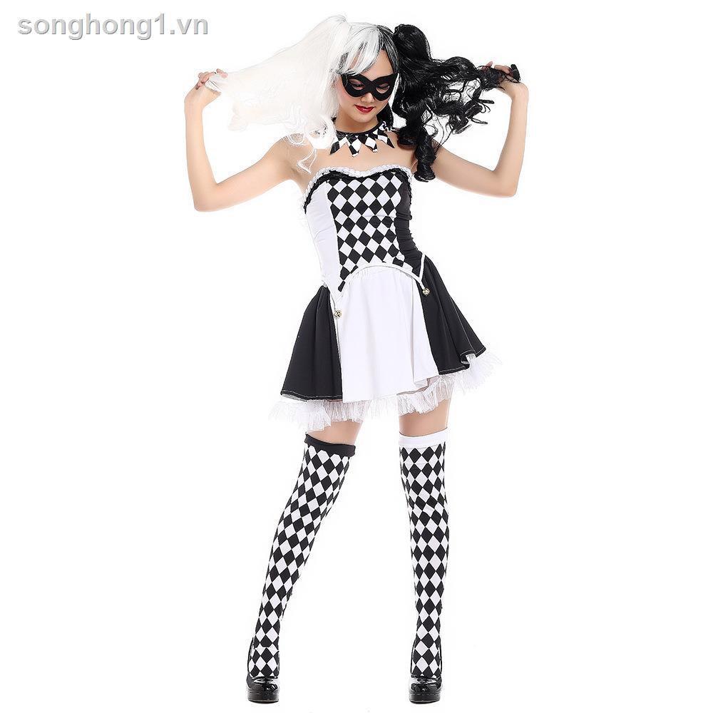 Trang Phục Hóa Trang Halloween Nhân Vật Chú Hề Cho