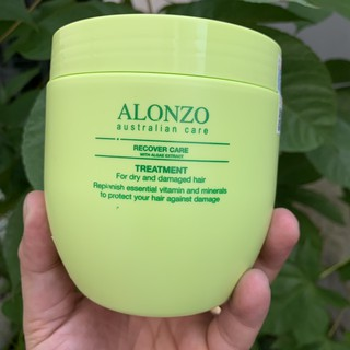 Kem hấp phục hồi tóc khô và hư tổn Alonzo Recover Care 500ml thumbnail