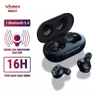 [Mã 159ELSALE hoàn 7% đơn 300K] Tai Nghe Không Dây True Wireless VIVAN LIBERTY T100 V5.0 Cảm Ứng - Âm Thanh Sắc Nét thumbnail