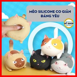 Đồ Chơi Mô Hình Mèo Silicon Co Giãn Đáng Yêu MS22 - Đô Shop thumbnail