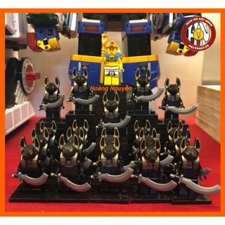 Minifigures – Lính thần anubis – Sói đen Ai Cập