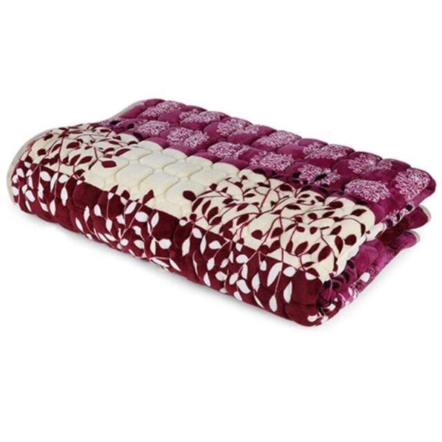 Thảm nhung trải giường hoạ tiết hang đẹp