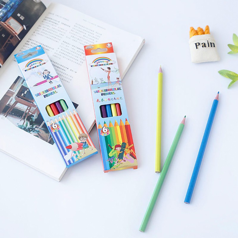 Color pencil students with oily color lead hand-painted art painting multi-color pen set sketch coloring pen tray packag