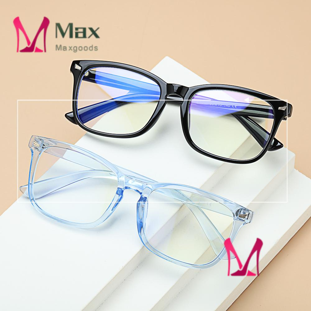 💋MAX Unisex Anti Blue Light Glasses Anti Glare Video Gaming Glasses Office Computer Glasses Goggles Flexible Blue Light Blocking Anti...