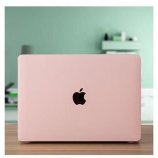 [Mã ELFLASH2 hoàn 10K xu đơn 20K] Ốp Macbook màu Hồng pastel đủ dòng (Tặng kèm nút chống bụi và bộ chống gãy sạc)