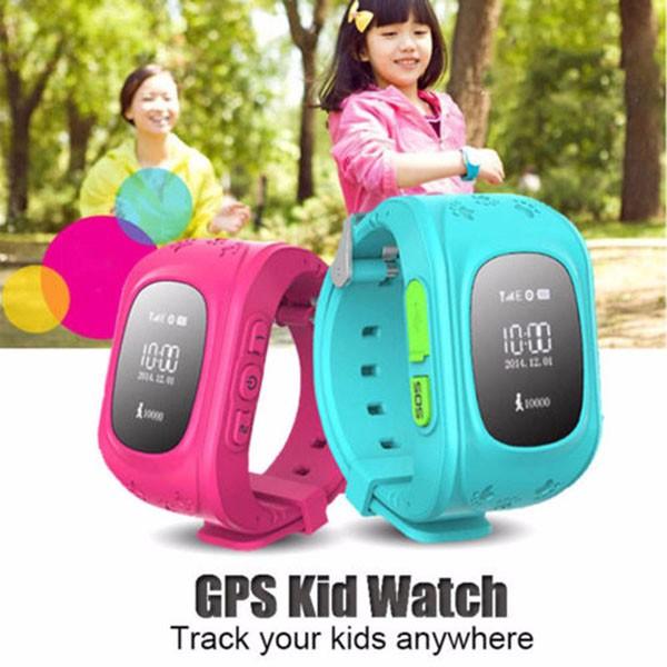Đồng hồ điện thoại định vị trẻ em Q50 đủ màu cho bé tự chọn