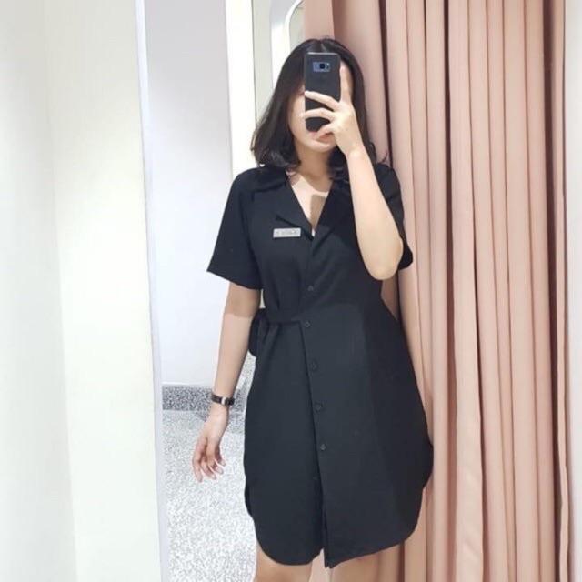 [Mã WASEPRN hoàn 20% xu đơn 99k] Đầm đen Hebe Dress