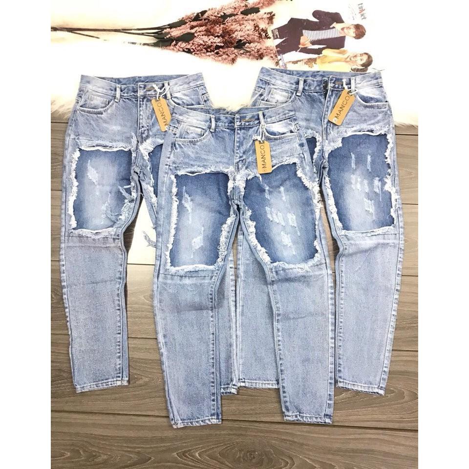 Quần Baggy Jeans Đắp