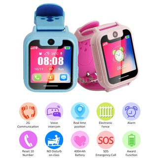 Đồng hồ thông minh có màn hình cảm ứng có thể nghe gọi chống thất lạc dành cho bé