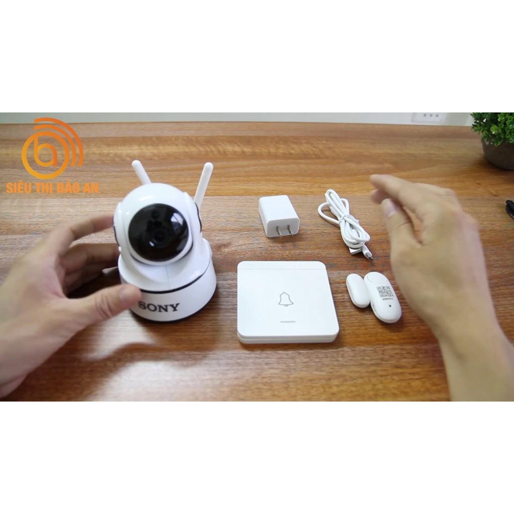 Camera Ngoài Trời Sony 3.0Mpx Full HD - Thiết Kế Đột Phá Bảo Hành 60 Tháng