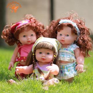 ✈BP✈Baby Doll Soft Lifelike Newborn Baby Speaking Toy