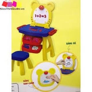Bộ bàn ghế và bảng học nam châm cho bé