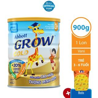 Sữa bột Abbott Grow 3+ 900g thumbnail