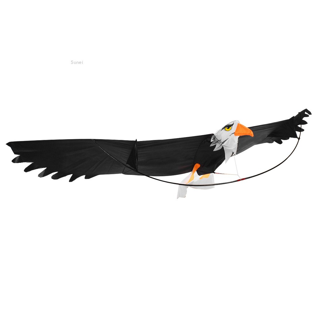 💗Sunei💗Lifelike 3D Flying Large Eagle Bird Kite Children Kids Outdoor Sports Toy