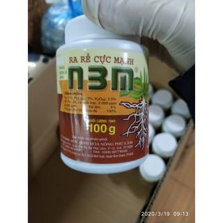 Phân bón N3M kích thích ra rễ cực mạnh lọ 100 gram