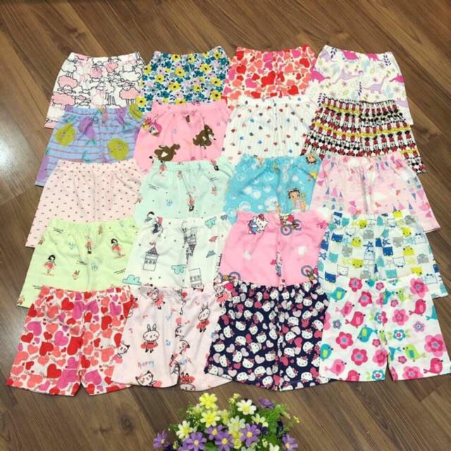 Quần chục bozip xuất ( set 10 quần ) cho bé