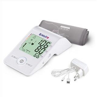 (Nhập khẩu 100% từ Thụy Sĩ) - Máy đo huyết áp cao cấp B.Well Med 55  _Có tặng kèm adaptor chính hãng 100%