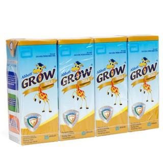 Lốc 4 Hộp Sữa Nước Abbott Grow Gold Hương Vani 180ml T8/2021
