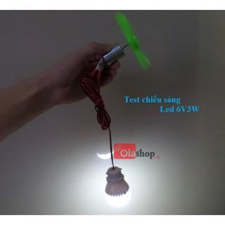 Máy phát điện gió mini V2