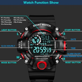Đồng hồ điện tử nam nữ Sport Watchh S013 mẫu mới