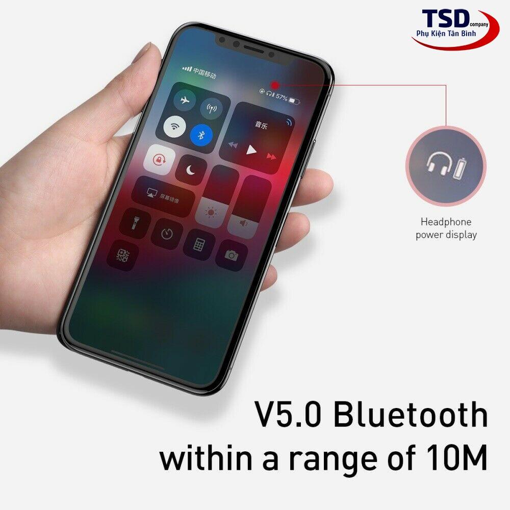 Tai Nghe Bluetooth Thể Thao Baseus S17 Kháng Nước Chuẩn IPX5