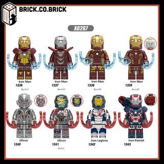 X0267 - Đồ chơi lắp ráp minifigure và lego mô hình nhân vật siêu anh hùng người sắt iron man Super Hero Iron Man thumbnail