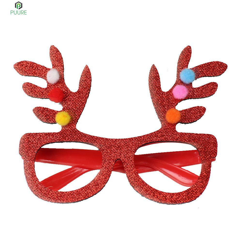 1PC Eyeglass Frame Christmas Decorative Glasses Birthday Party Supplies Creative Children's Gifts