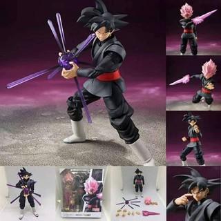 Mô Hình Khớp Cử Động Figma Black Goku Cao 15cm – Mô Hình Dragon Ball hàng Quảng Châu