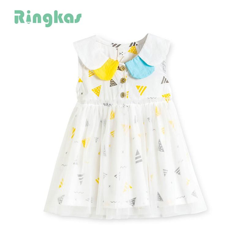 Ringkas váy hè bé gái cho bé mặc hè từ 0 - 4tuổi váy bé gái dễ thương váy đầm cho bé gái