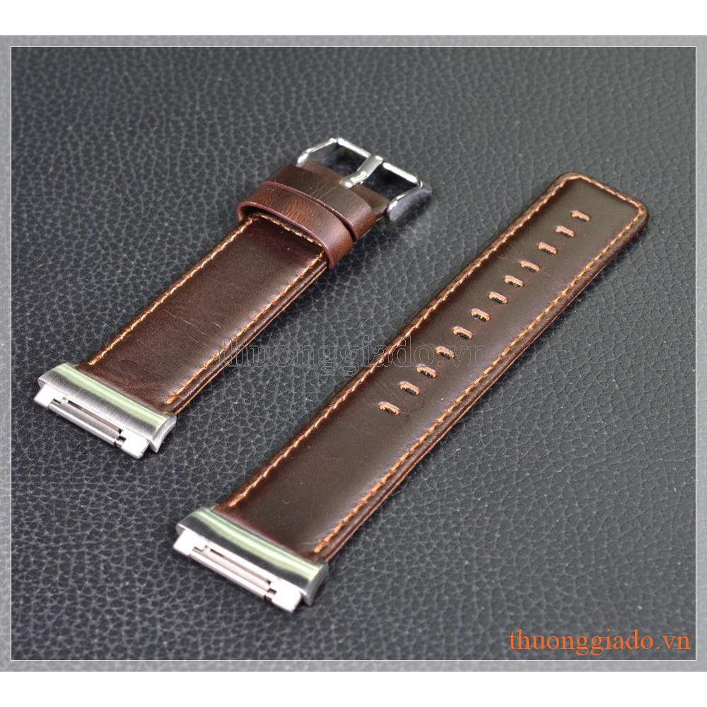 Dây đồng hồ Fitbit Ionic (da bò, màu nâu cà phê) - 3420203 , 738772130 , 322_738772130 , 320000 , Day-dong-ho-Fitbit-Ionic-da-bo-mau-nau-ca-phe-322_738772130 , shopee.vn , Dây đồng hồ Fitbit Ionic (da bò, màu nâu cà phê)