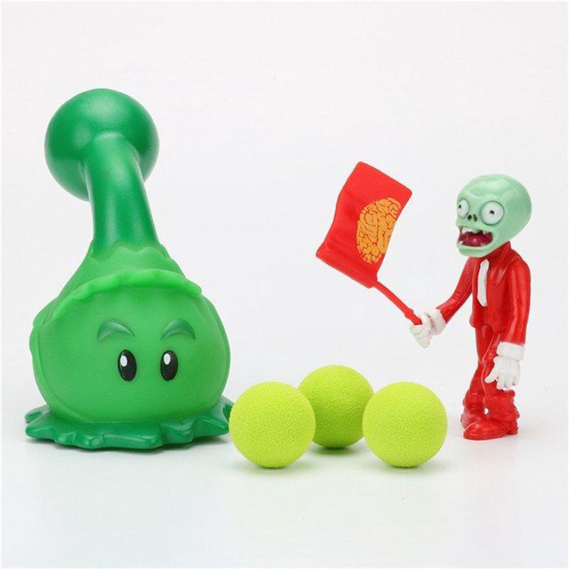 Plants Vs Zombies Toys Mini Peashooter Pvc Action Figure Model Toy Collectible Kids Gifts Anak Patung For Boys